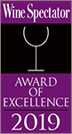 Wine Spectator 2019 Award of Excellence