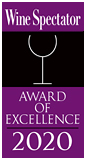 Wine Spectator 2020 Award of Excellence