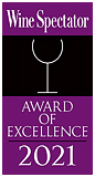 Wine Spectator 2021 Award of Excellence